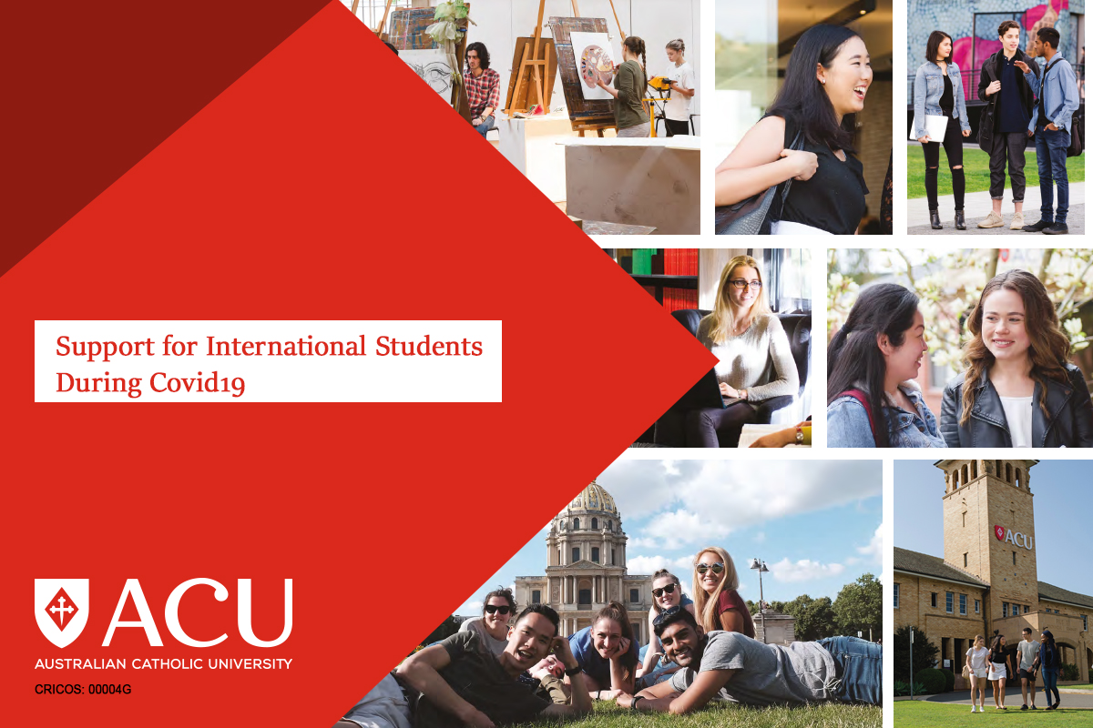 ACU Support for International Students during Covid19