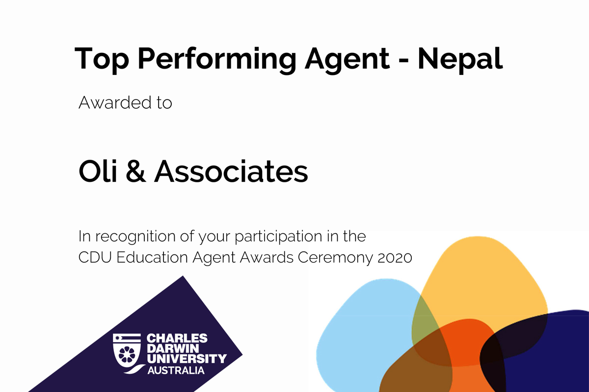 Top Performing Agent - Nepal (CDU)