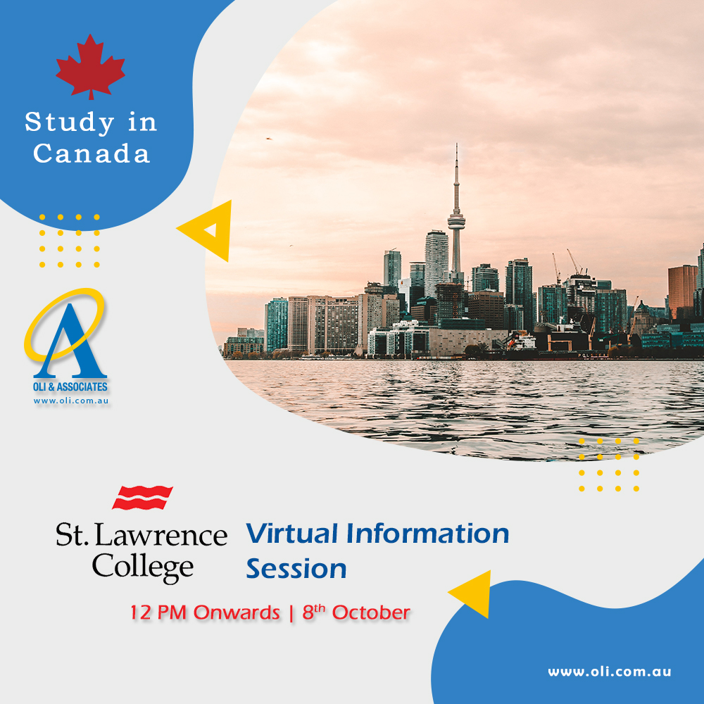 St. Lawrence College - Virtual Session